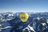 Winterzauber Ballonfahrt